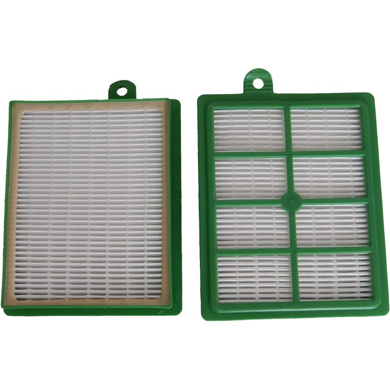 Set de filtros Hepa para AEG UltraOne AUO 8865, AUO 8866, AUO 8867, AUO 8868, AUO 8869, AUO 8870 reemplaza AEF 12, H12. - Vhbw