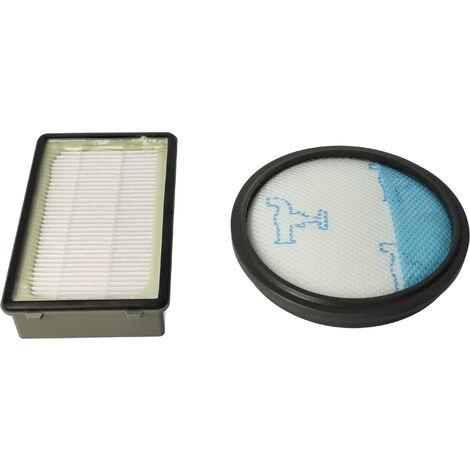 1-2 FILTRI HEPA Igiene Filtro compatibile per Philips Jewel fc9073