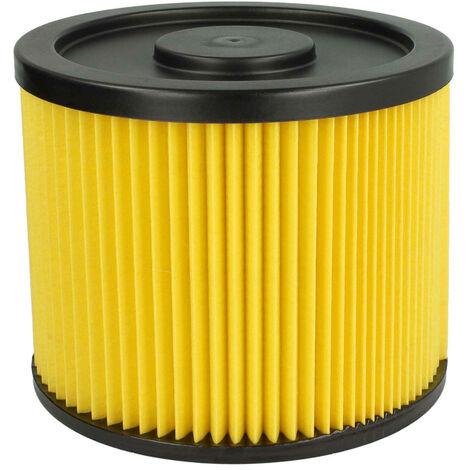 Einhell 2351110 2x Rund-Filter Lamellenfilter gelb für Kärcher 6.904-170.0