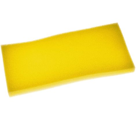 vhbw Staubsaugerfilter passend für Grundig VCC 7070, 7070 A, 7070 C, 7070 TP Staubsauger Schaumstoff Filter