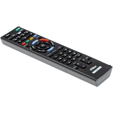 vhbw Télécommande compatible pour télévision, TV Sony KDL-46R450A, KDL-46R453, KDL-46R453A, KDL-46R471A, KDL-46W700A - télécommande de rechange