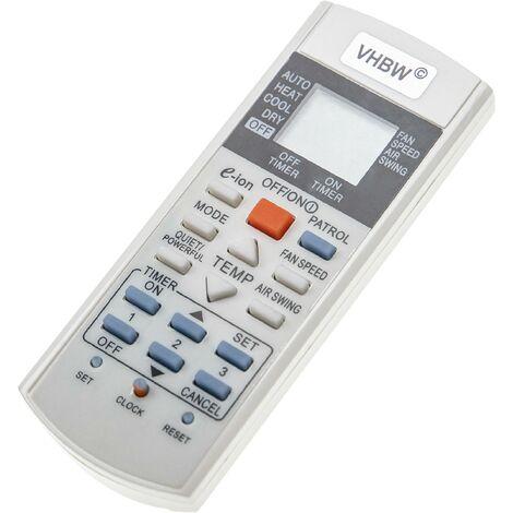 vhbw Télécommande universelle compatible avec Panasonic climatisation, climatiseur