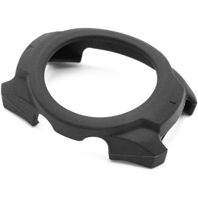 vhbw Étui compatible pour Mobvoi Ticwatch Pro Smartwatch - noir, silicone