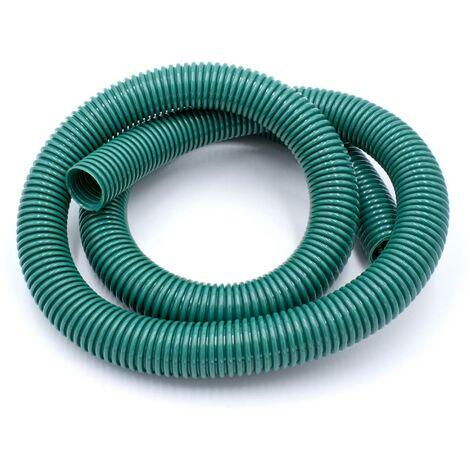 vhbw Tuyau aspirateur universel vert 32mm compatible avec Philips, AEG, Electrolux, Dirt Devil, Rowenta, DeLonghi, Miele, Bosch, Siemens.