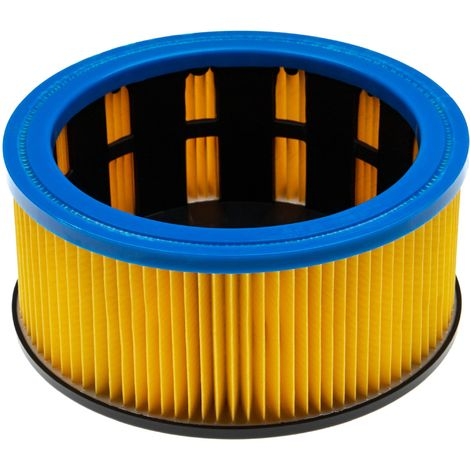 vhbw vacuum cleaner filter compatible with Metabo AS 1200, AS 20 L, ASA 1201, ASA 1202, ASA 32 L vacuum cleaner; cartridge filter, Class M