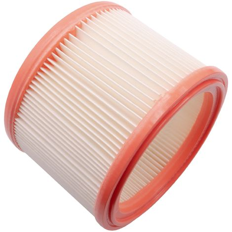 vhbw vacuum cleaner filter for Nilfisk ST 25, ST 35 E, turbo SSR, turbo XL, turbo XL 25 vacuum cleaner filter element
