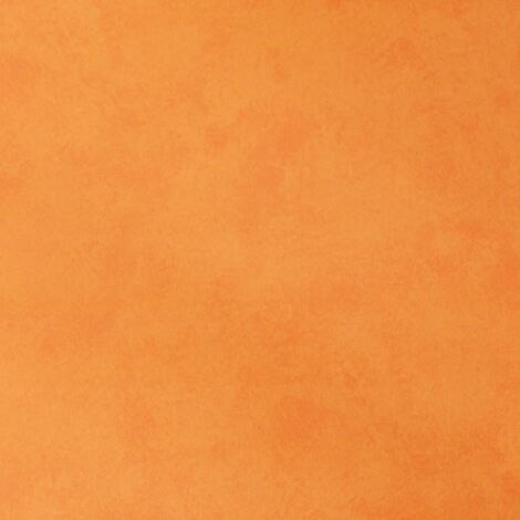 Vibrant Orange Plain Textured Wallpaper Vinyl Felt Effect