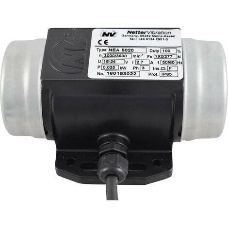 Vibrateur électrique 230 V/AC 3000 tr/min 192 N 0.035 kW 0.17 A S65123
