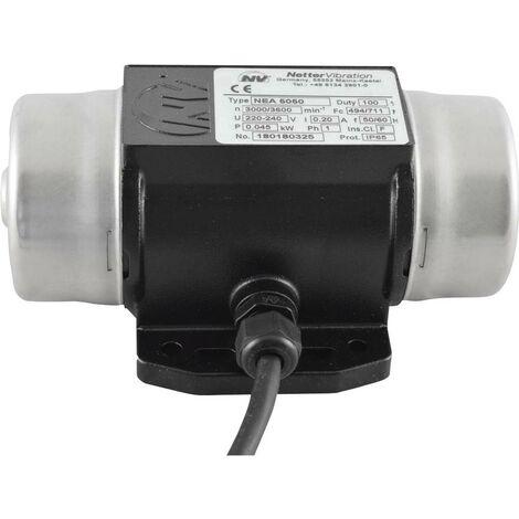 Vibrateur électrique Netter Vibration NEA 5050 230 V/AC 3 000 tr/min 450 N 0,045 kW 0,20 A 1 pc(s)