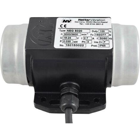 Vibrateur électrique Netter Vibration NEG 5020 3 x 230 V 3000 tr/min 192 N 0,035 kW 0,15 A 1 pc(s) S65391