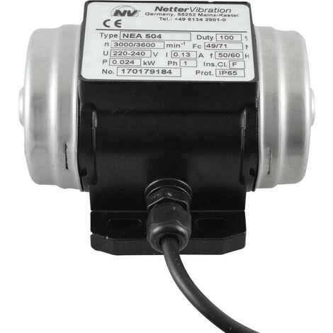 Vibrateur électrique Netter Vibration NEG 5050 3 x 230 V 3000 tr/min 450 N 0,045 kW 0,16 A 1 pc(s) S65320