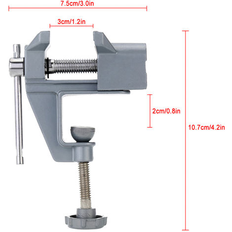 Vice, Electric Drill Stent, Vice Table Clamp Jewelry Clamp
