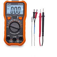 Vici Mini Multimetre Numerique, Tension Courant Compteur Resistance a La Temperature