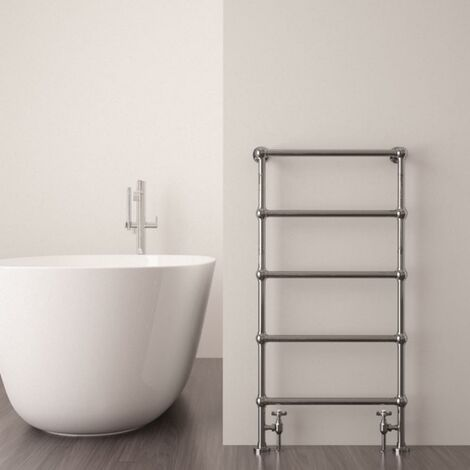 Victoria Towel warmer 950x500 533 BTUs Chrome