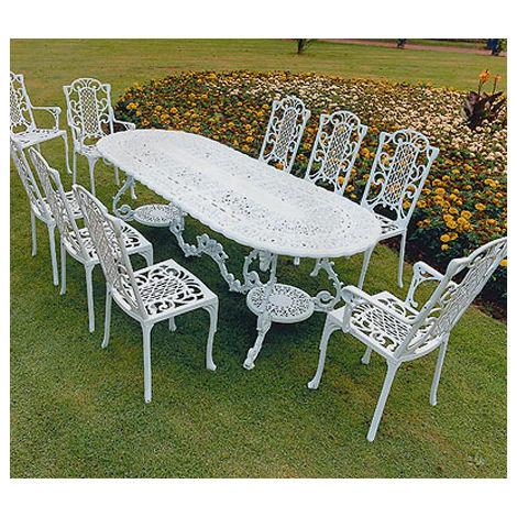 Victorian Maxi Grand British Made, High Quality Cast Aluminium Garden Furniture