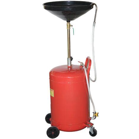 Vidange d'huile portable 68 litres Drain egoutoir tank Récupérateur d'huile
