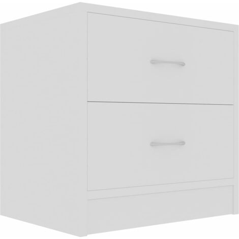vidaXL 1/2x Bedside Cabinets 40x30x40 cm Chipboard Nightstands Sideboards Bedroom Drawer End Table Lowboards Home Furniture Multi Colours