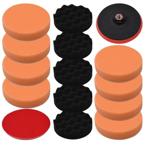 vidaXL 14 Piece Polishing Pad Set 150 mm