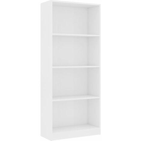"main image of ""vidaXL Book Cabinet Chipboard Shelves Bookcase Book Shelves Display Shelf Storage Organiser Home Office Interior Multi Colours/Sizes"""