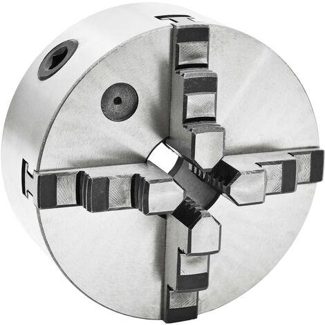 "main image of ""vidaXL 4 Jaw Self-Centering Lathe Chuck 160 mm Steel"""