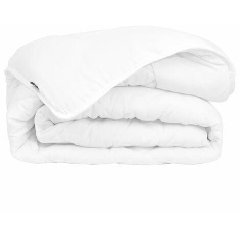 vidaXL 4 Seasons Duvet Durable Machine Washable Bedroom Bedding Double Layer Hollow Fibre Filling Quilt Sheet Multi Sizes Multi Standards