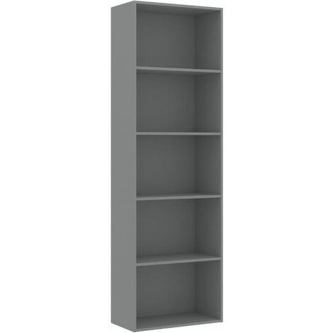 "main image of ""vidaXL Book Cabinet Sleek Classic Living Room Office Storage Unit Rack Highboard Display Shelves Furniture Chipboard Multi Colours/Sizes"""