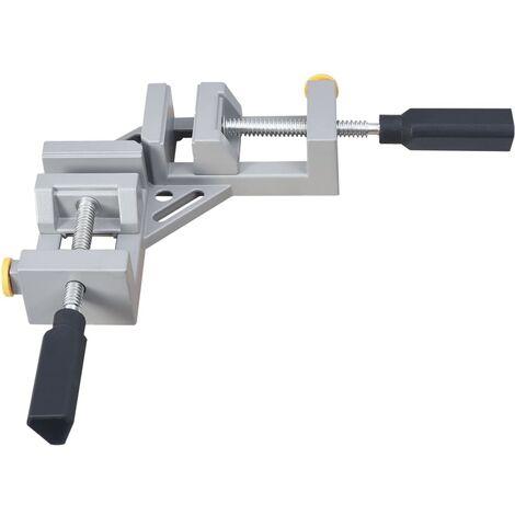 vidaXL Angle Clamp Double Handle 95 mm Aluminium