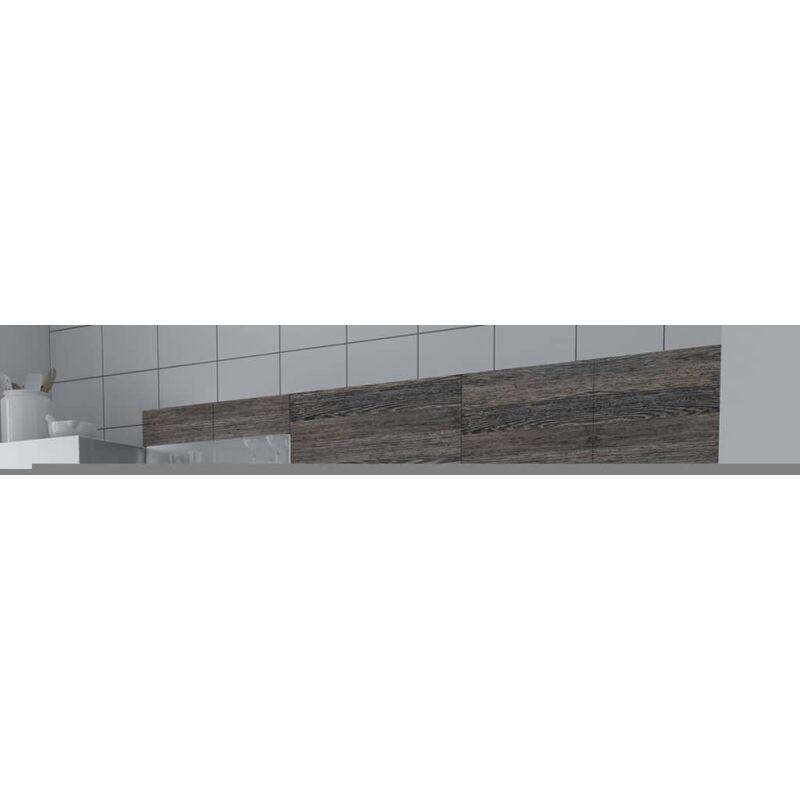 vidaXL Armadi Cucina Set 5 pz Wenge - Marrone - 8718475891055