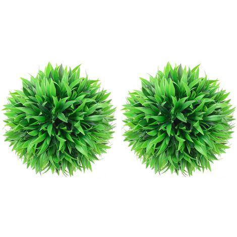 vidaXL Artificial Boxwood Balls 2 pcs 30 cm - Green