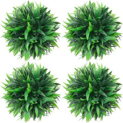 vidaXL Artificial Boxwood Balls 4 pcs 15 cm - Green