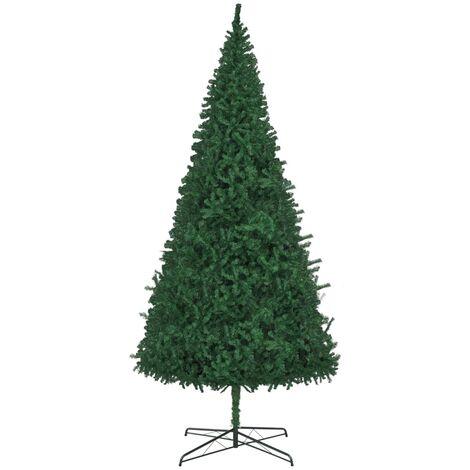 "main image of ""vidaXL Artificial Christmas Tree Party Decor Plant Green/White Multi Sizes"""