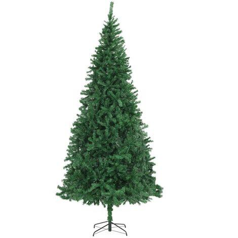 vidaXL Artificial Christmas Tree Party Decor Plant Green/White Multi Sizes