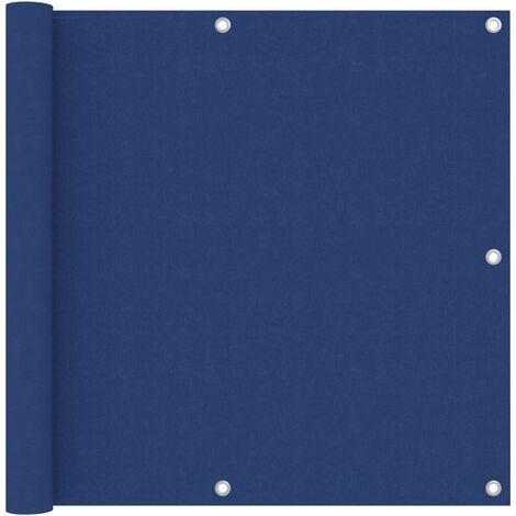 "main image of ""vidaXL Balcony Screen Blue 90x600 cm Oxford Fabric - Blue"""