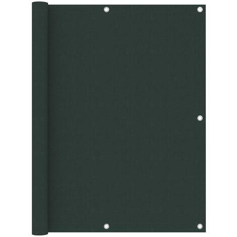 "main image of ""vidaXL Balcony Screen Dark Green 120x300 cm Oxford Fabric - Green"""