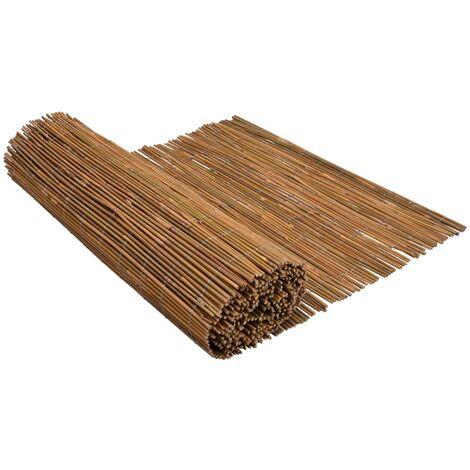 vidaXL Bamboo Fence 500x170 cm - Brown