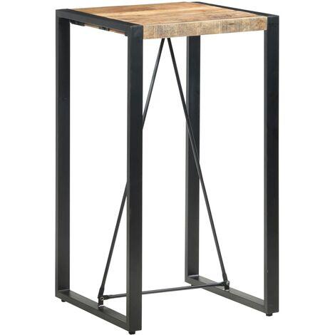 vidaXL Bar Table 60x60x110 cm Solid Mango Wood - Brown