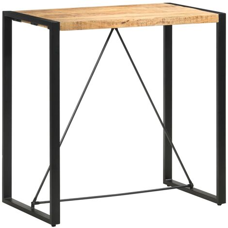 vidaXL Bar Table 60x60x110 cm Solid Sheesham Wood - Brown
