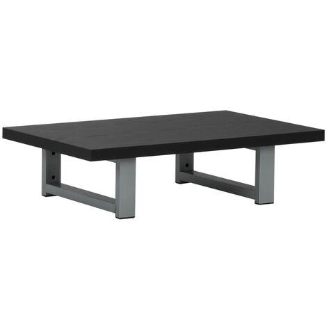 "main image of ""vidaXL Bathroom Wall Shelf for Basin Black 60x40x16.3 cm - Black"""