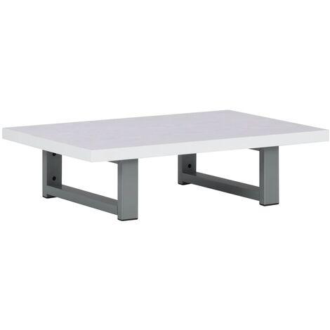 "main image of ""vidaXL Bathroom Wall Shelf for Basin White 60x40x16.3 cm"""