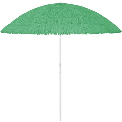 vidaXL Beach Umbrella Green 300 cm - Green