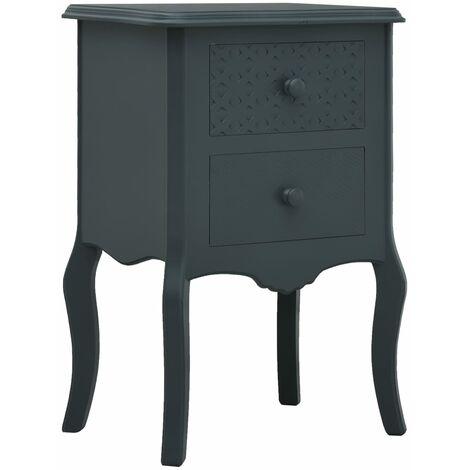 vidaXL Bedside Cabinet Bedroom Furniture Nightstand Telephone Table Sideboard Shelf Stand Storage Side Cabinet Organiser MDF Multi Colours