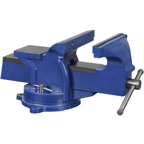 vidaXL Bench Vice with Swivel Base 100 mm