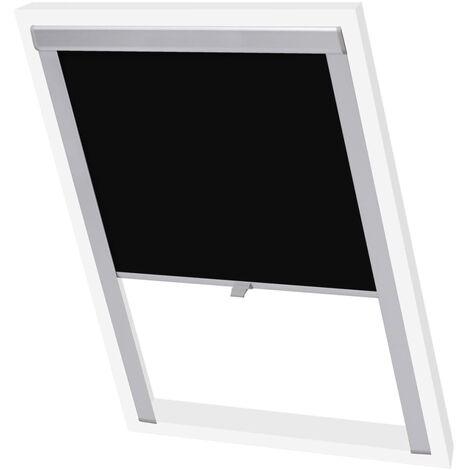 vidaXL Blackout Roller Blinds Black M06/306 - Black