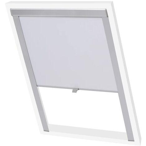 vidaXL Blackout Roller Blinds White C02 - White
