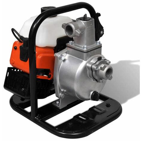 vidaXL Bomba de agua a gasolina 2 tiempos 1,45 kW 0,95 L