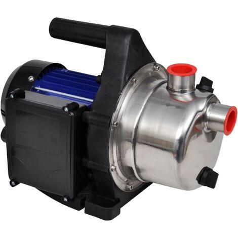 vidaXL Bomba de agua eléctrica para jardín 600 W