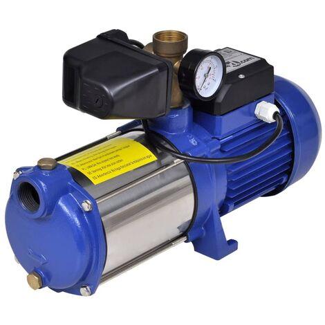 "main image of ""vidaXL Bomba de chorro con indicador azul 1300 W 5100 l/h"""