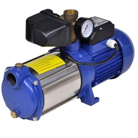 vidaXL Bomba de chorro con indicador azul 1300 W 5100 l/h (no se puede enviar a Baleares)