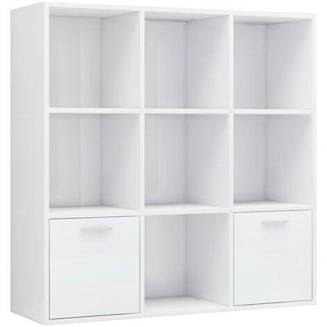 "main image of ""vidaXL Book Cabinet Bedroom Living Room Office Bookshelf Standing Shelf Storage File Cabinet Sideboard Highboard Furniture Chipboard Multi Colours"""