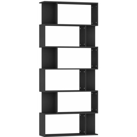 """main image of """"vidaXL Book Cabinet/Room Divider with 6 Large Compartments and 12 Small Ones Chipboard Book Stand Highboard Office Cabinet Bookshelves Multi Colours"""""""